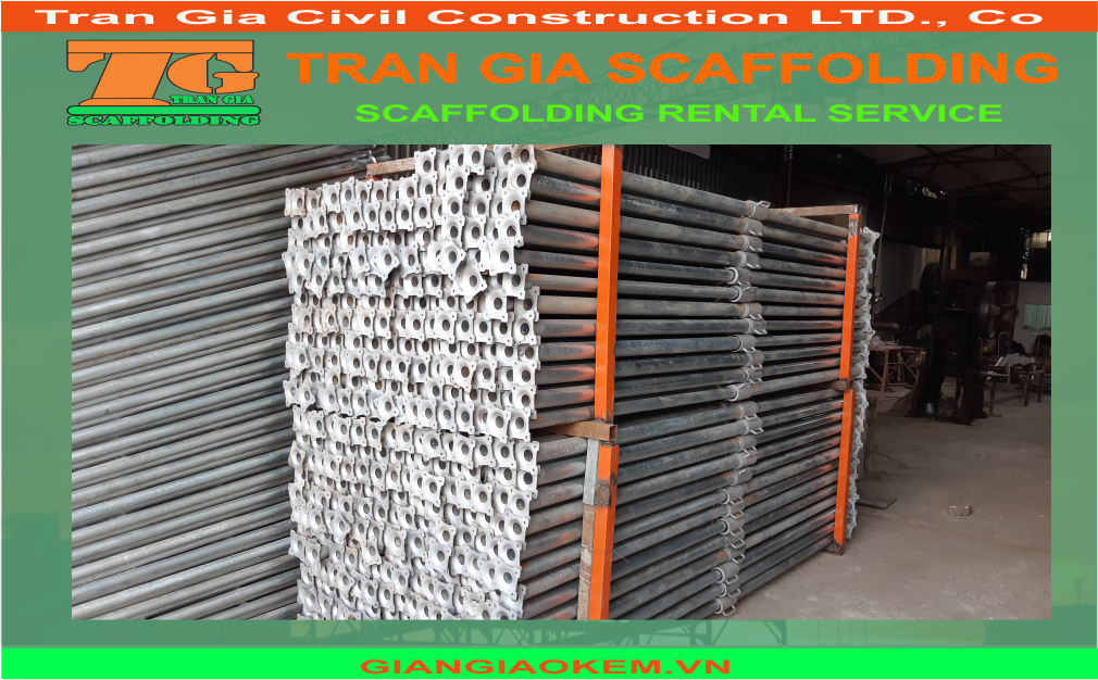 Tran Gia also provice prop, not only scaffolding rental service