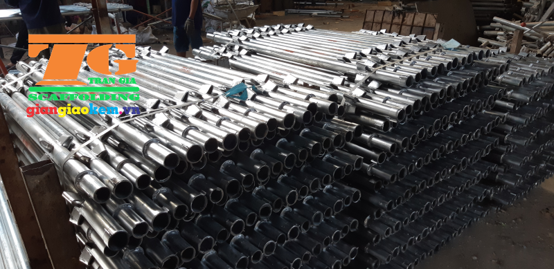 Scaffold of Tran Gia company is the most popular choice for constructors
