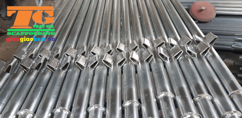 Wedge Scaffolding is produced by high quality steel pipe which would help constructions look more professional
